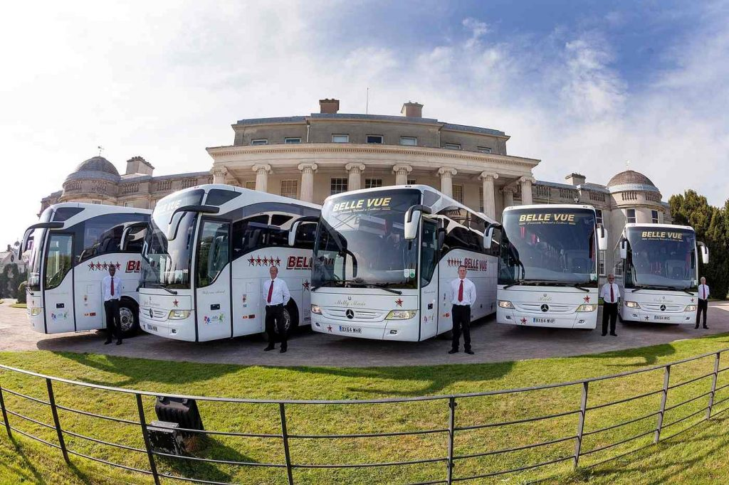 Image of Coaches and Drivers from Belle Vue